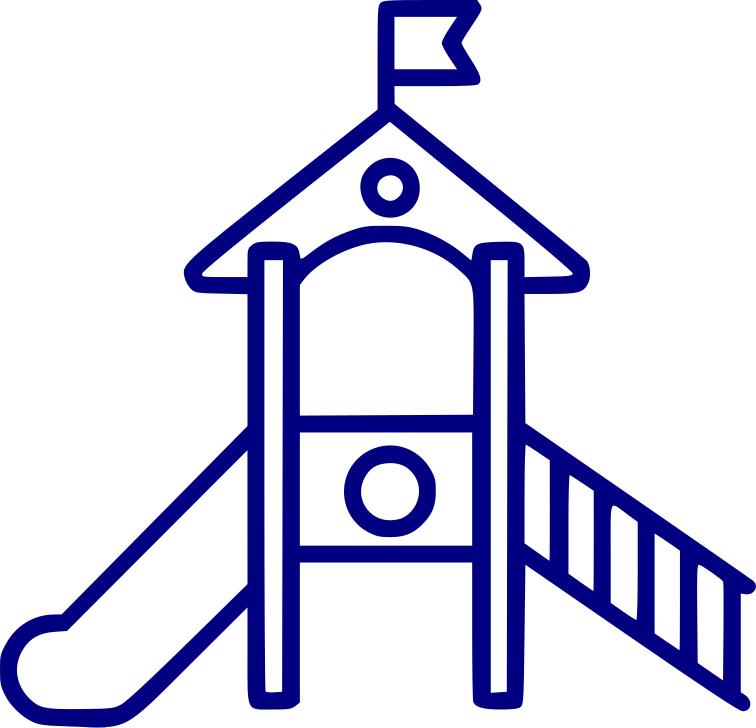 Prvky z gumového recyklátu pro dětská hřiště, sportoviště, fitness centra a zimní stadióny