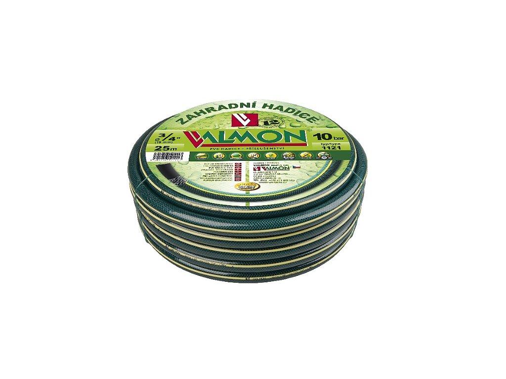 PVC zahradní hadice neprůhledná zelená 1121