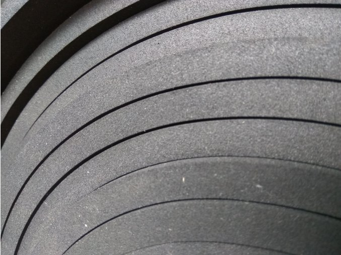 Mikroporézní pryž T100 EPDM- deska: 2000mm x 1000mm x 10mm