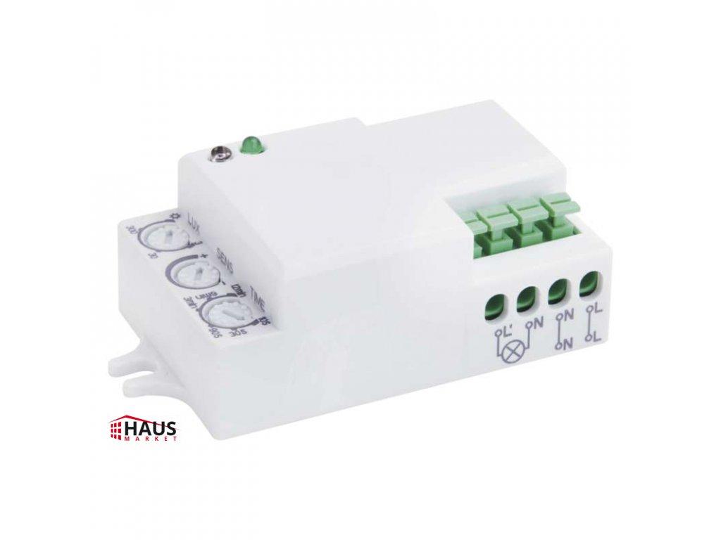 MW senzor (pohybové čidlo) IP20 1200W, biely G1210