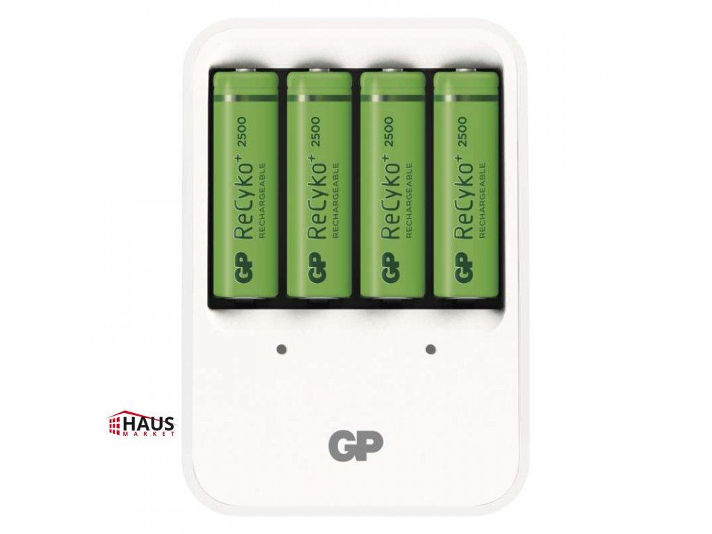 Nabíjačka batérií GP PB420 + 4× AA GP ReCyko+ 2500 mAh B0042