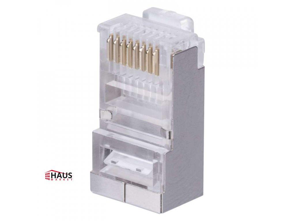 Konektor RJ45 pre FTP CAT6 (drôt) CAT6 K0202