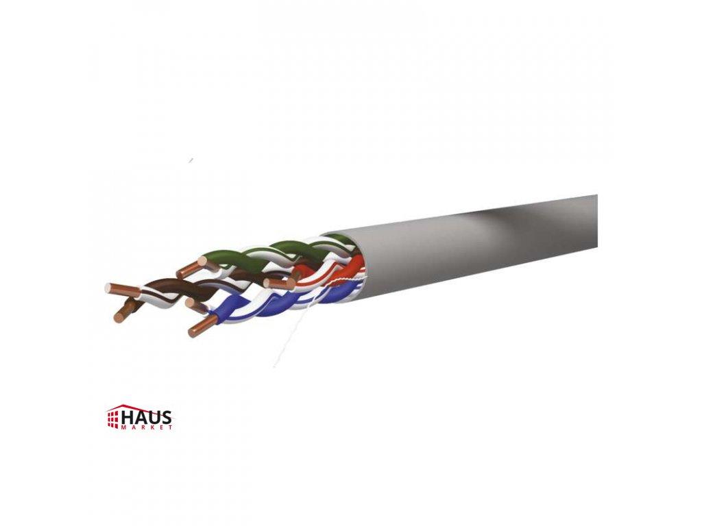 Datový kábel UTP CAT 5E CCA PVC, 305m S9128