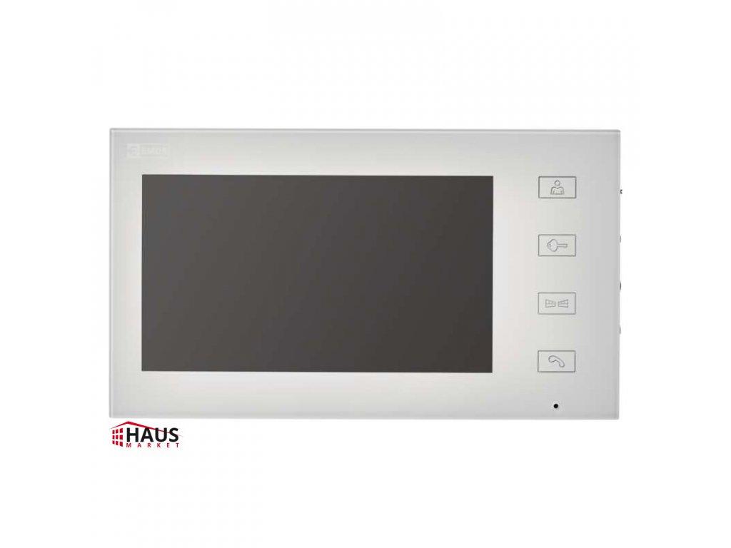 Monitor pre videovrátnik EMOS RL-10, biely H1116