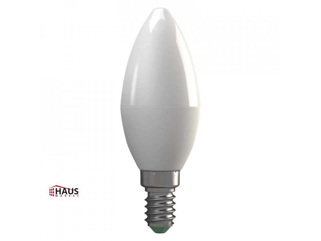 LED žiarovka Basic Candle 6W E14 teplá biela ZL4102