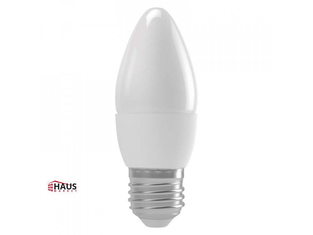 LED žiarovka Basic Candle 6W E27 teplá biela ZL4108