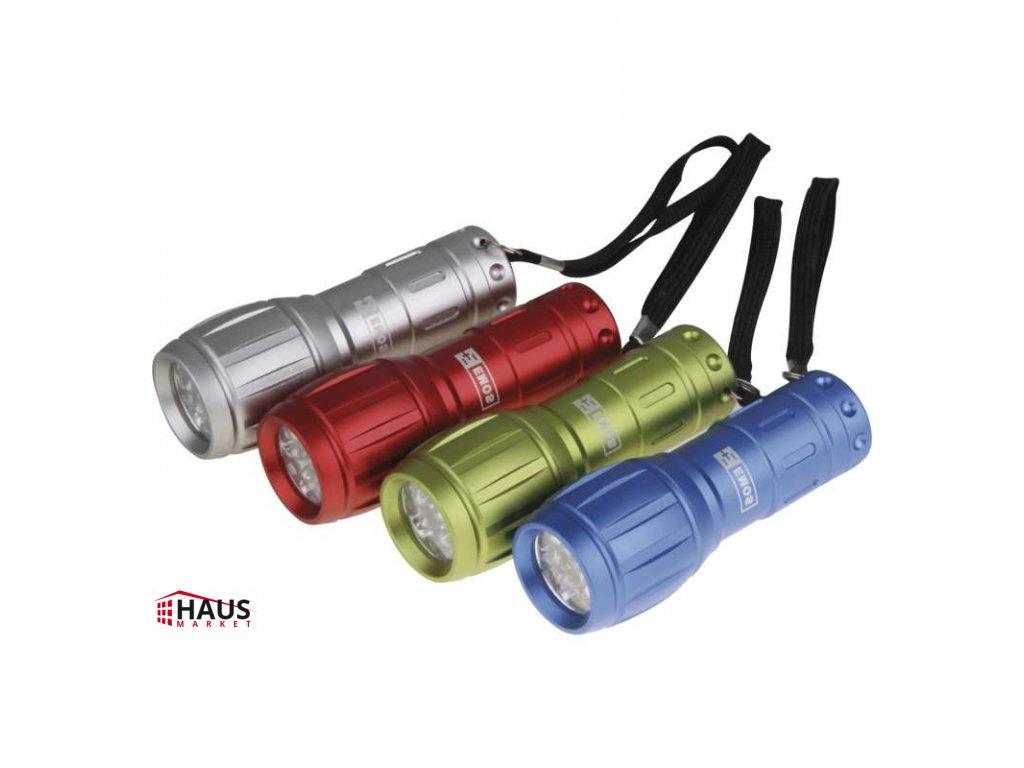 LED ručné kovové svietidlo P3882, 50 lm, 3× AAA, 12 ks P3882