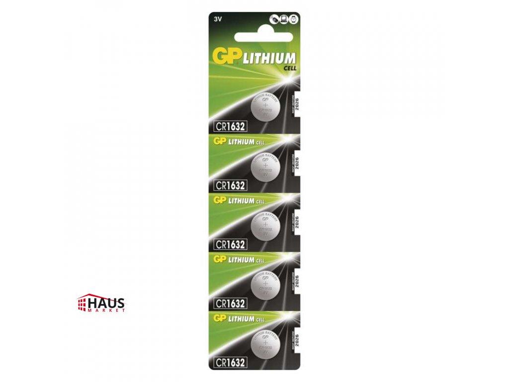 Lítiová gombíková batéria GP CR1632 B1595