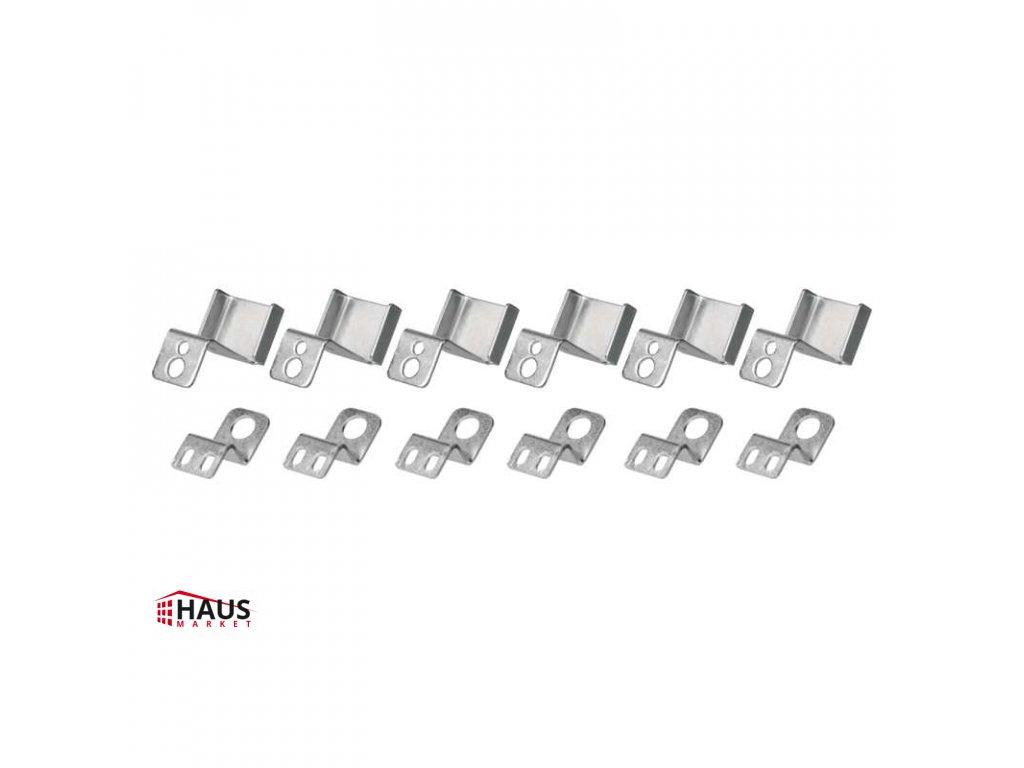 6 háčikov pre LED panel 120×30cm ZR9011