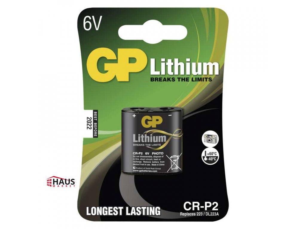Lítiová batéria GP CR-P2 B1502
