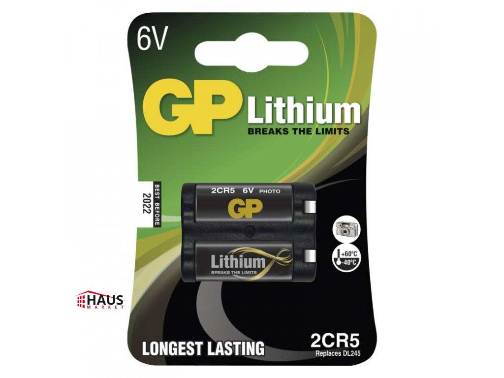 Lítiová batéria GP 2CR5 B1505