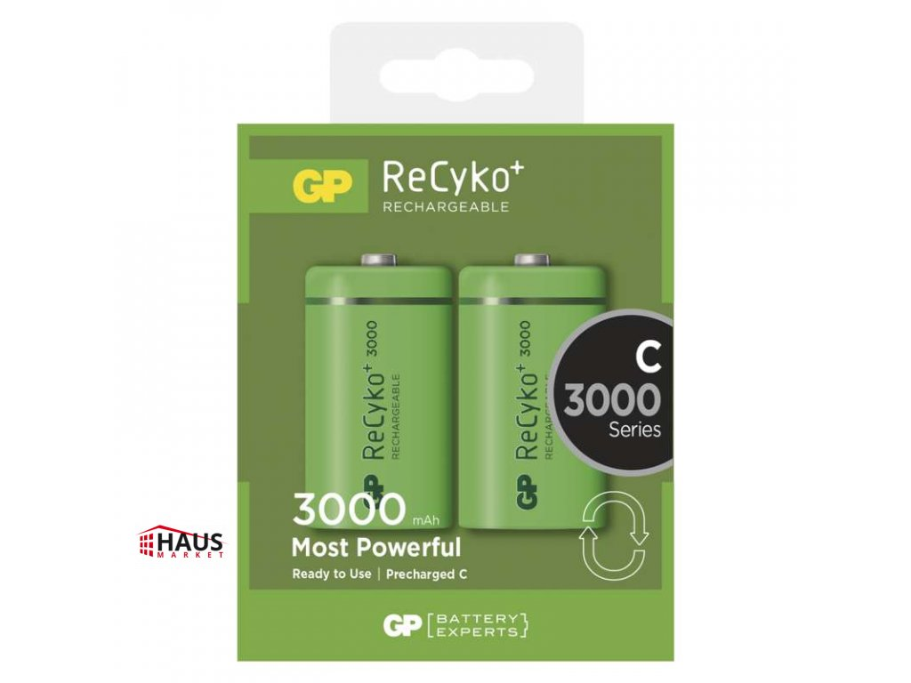 Nabíjacia batéria GP ReCyko+ 3000 (C) B0832