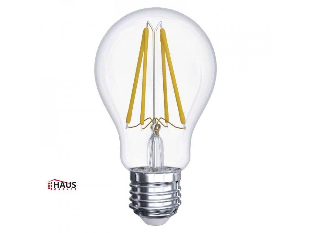 LED žiarovka Filament A60 A++ 6W E27 teplá biela Z74260