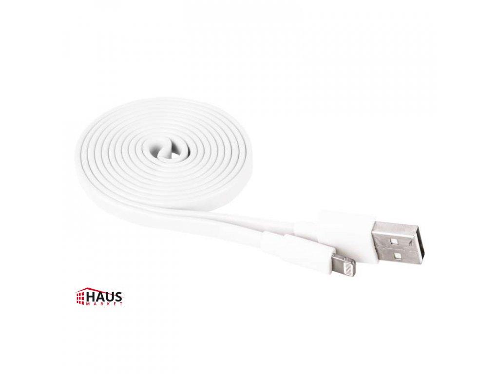 USB kábel 2.0 A/M - i16P/M 1m biely SM7013W