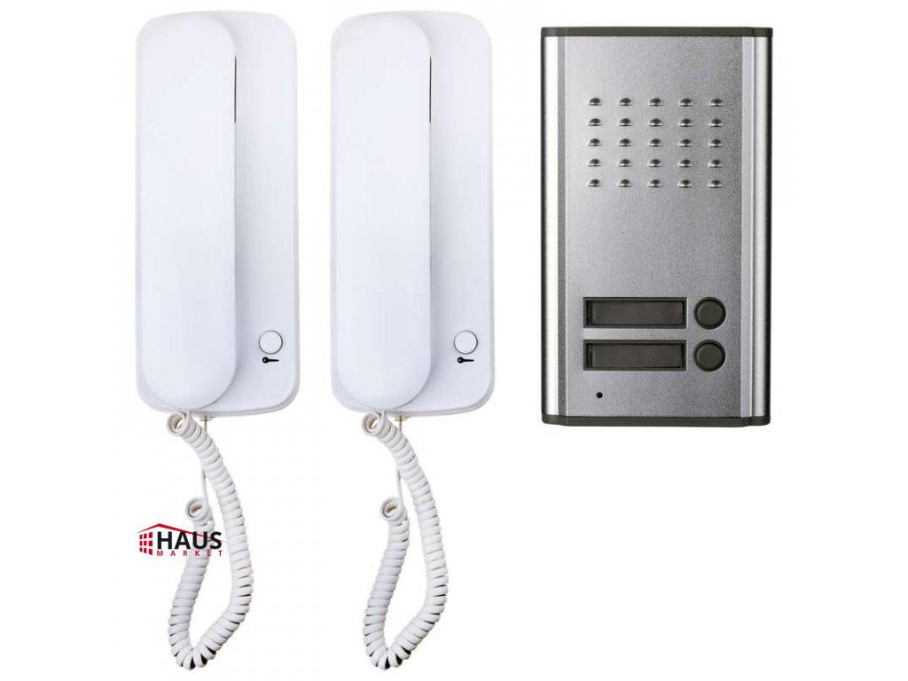 Sada audiovrátnika EMOS H1086, 2 účastníci H1086