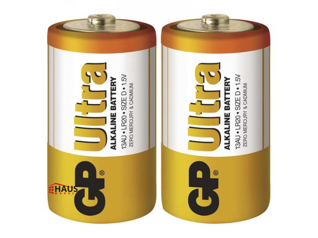 Alkalická batéria GP Ultra LR20 (D) B1941
