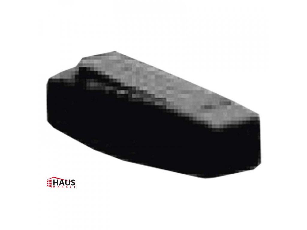 Spínač jednopólový šnúrový priechodzí 3251-01910 čierny A1203
