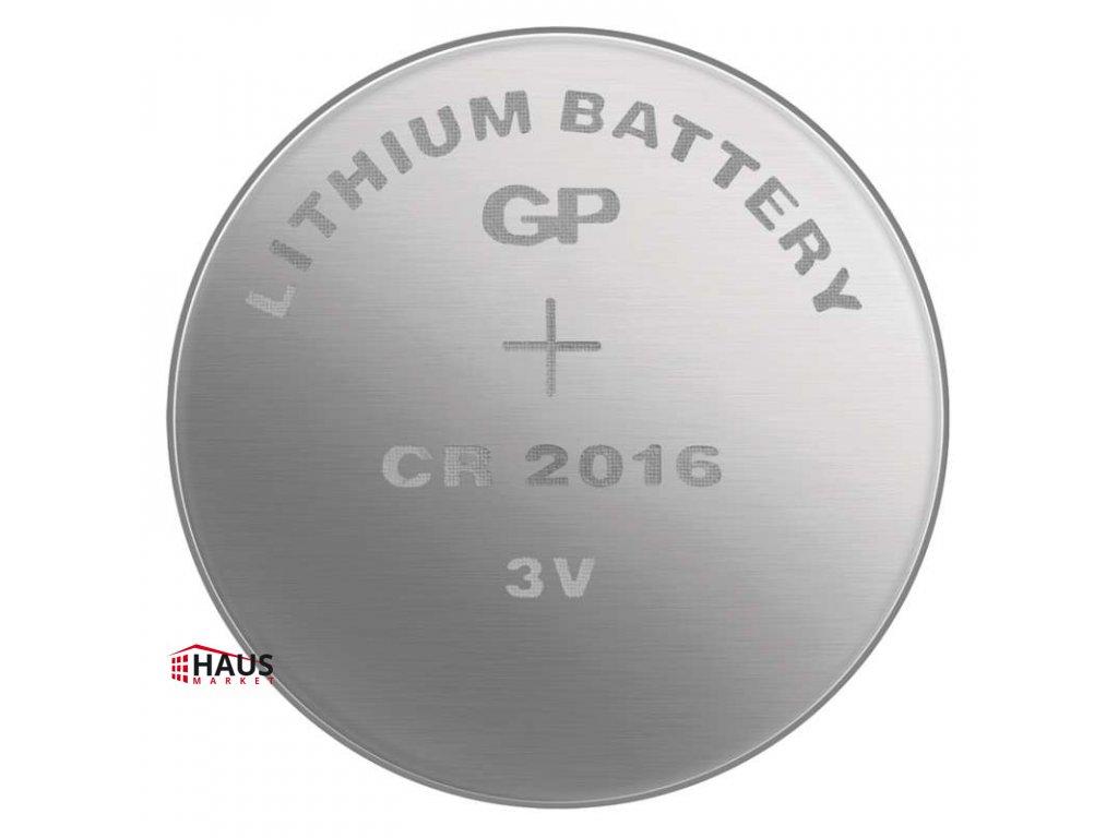Lítiová gombíková batéria GP CR2016 B15161