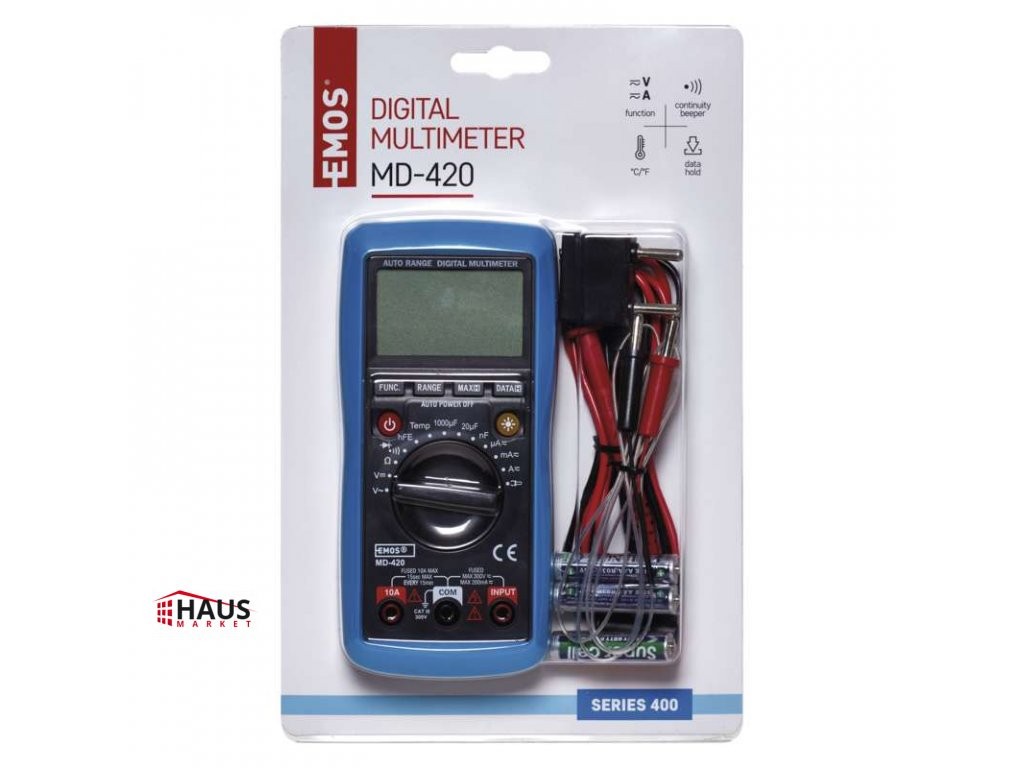 Multimeter MD-420 M0420