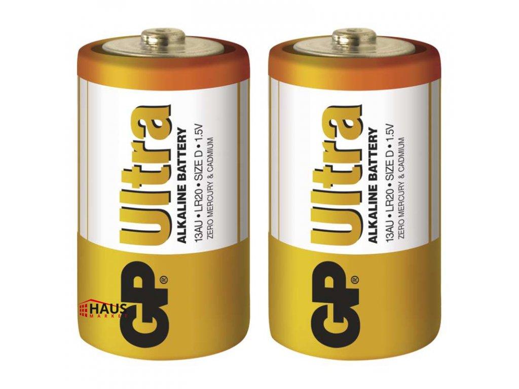 Alkalická batéria GP Ultra LR20 (D) B1940