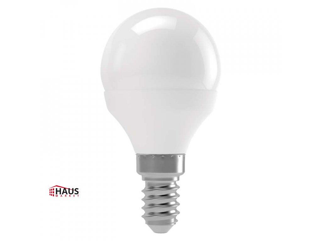 LED žiarovka Basic Mini Globe 6W E14 teplá biela ZL3904