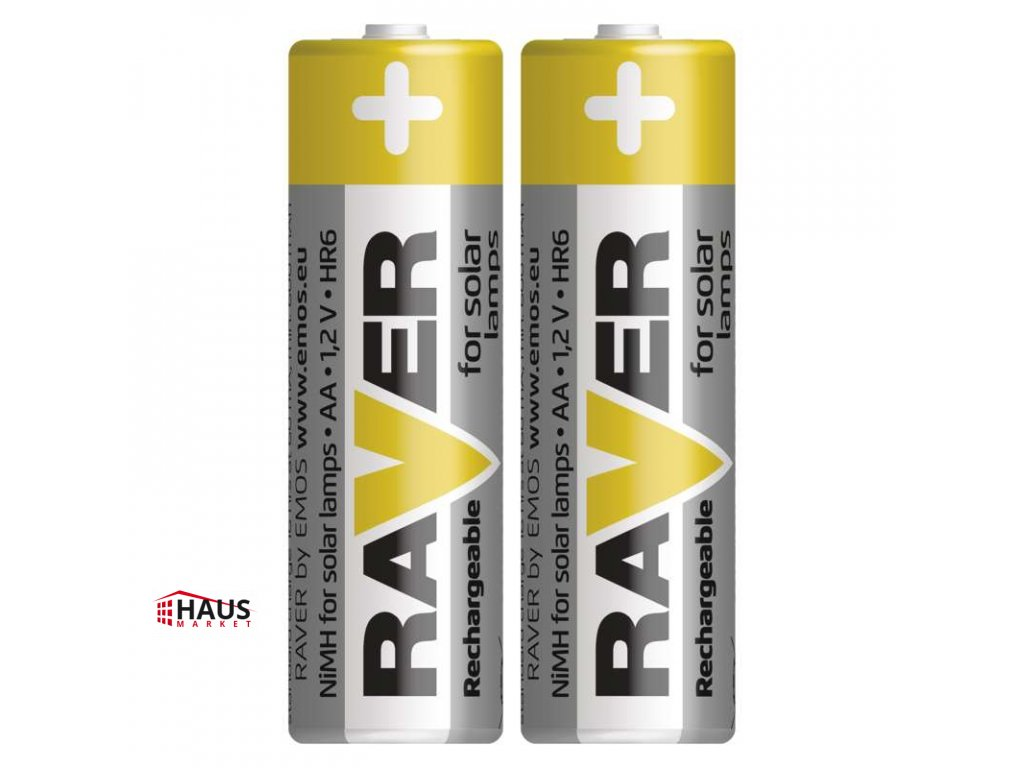 Nabíjacia batéria RAVER 600 mAh HR6 (AA) B7426