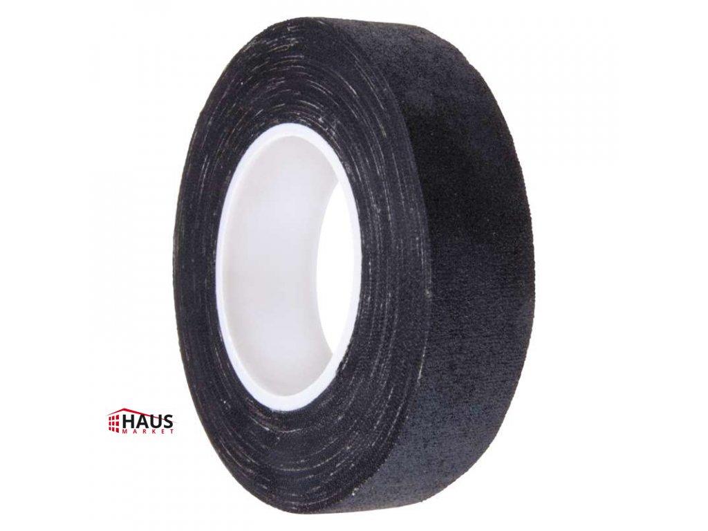 Izolačná páska textilní 19mm / 10m čierna F6910
