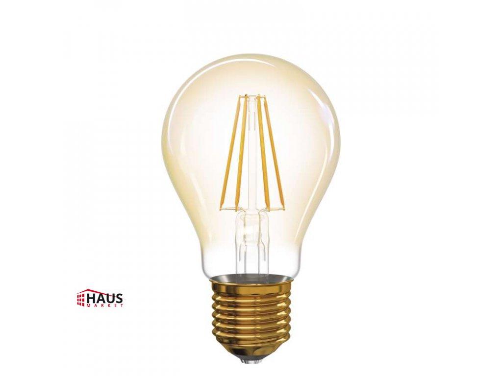 LED žiarovka Vintage A60 4W E27 teplá biela+ Z74301