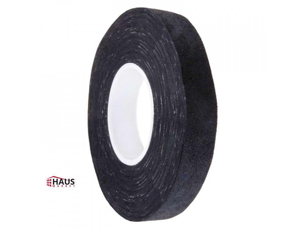 Izolačná páska textilní 15mm / 15m čierna F6515