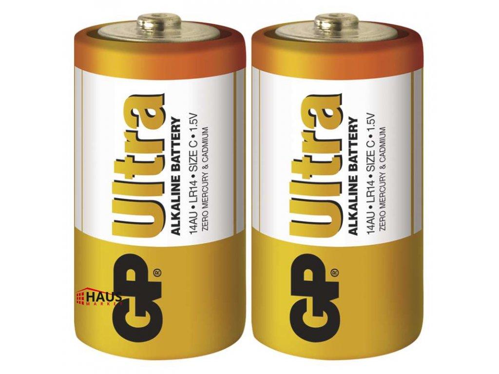Alkalická batéria GP Ultra LR14 (C) B1931