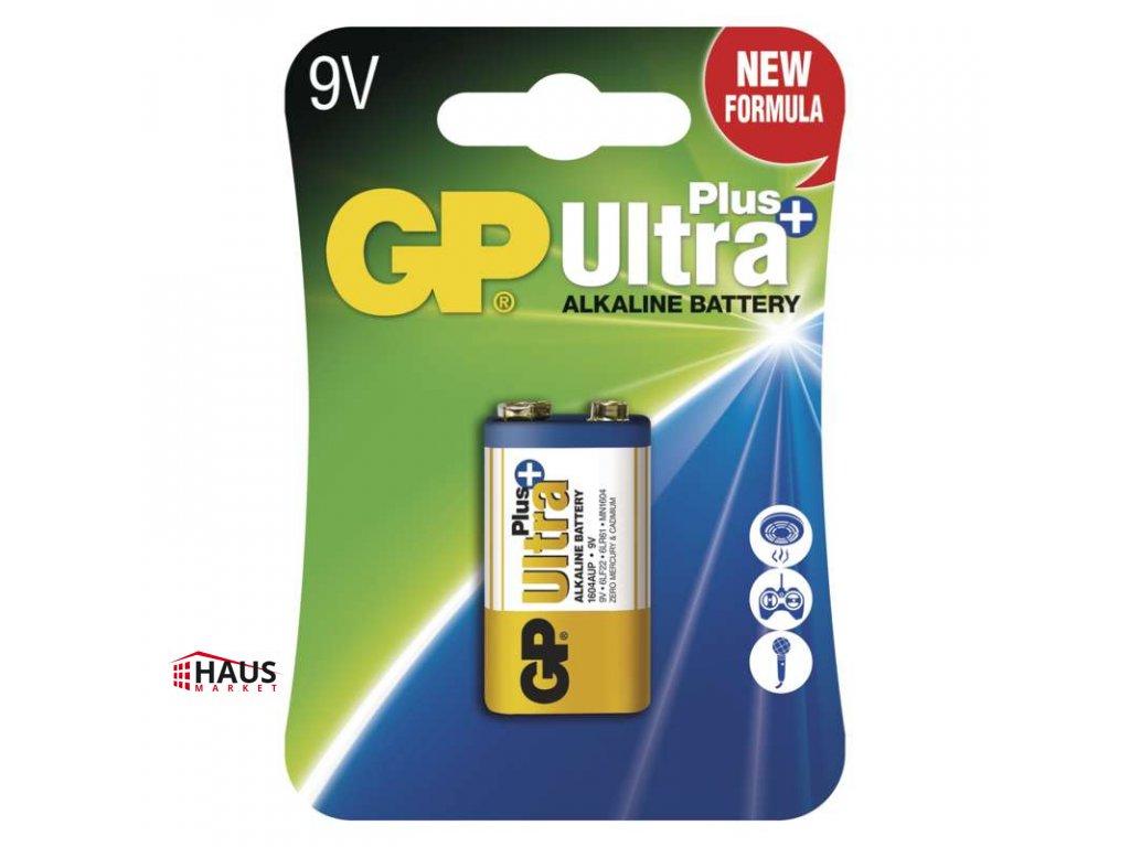 Alkalická batéria GP Ultra Plus 6LF22 (9V) B1751