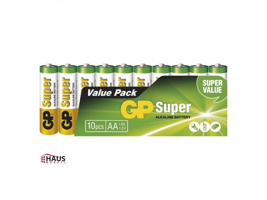 Alkalická batéria GP Super LR6 (AA) B1320G