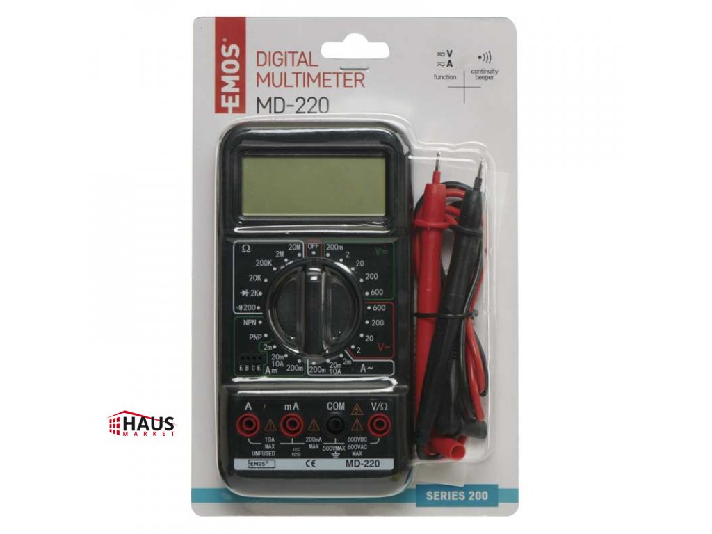 Multimeter MD-220 M2092