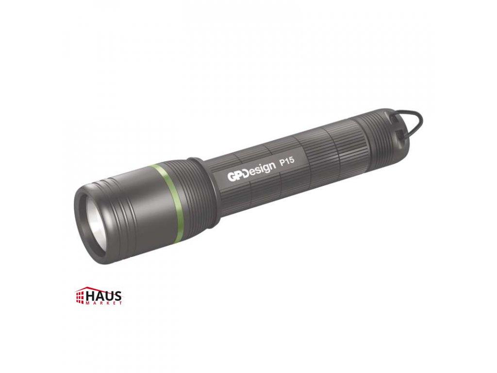 CREE LED ručné svietidlo GP P15, 150 lm, 1× AA P8401