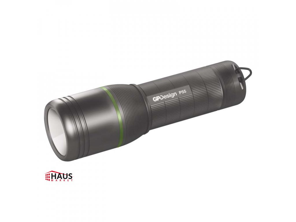 CREE LED ručné svietidlo GP P55, 450 lm, 4× AAA, fokus P8404