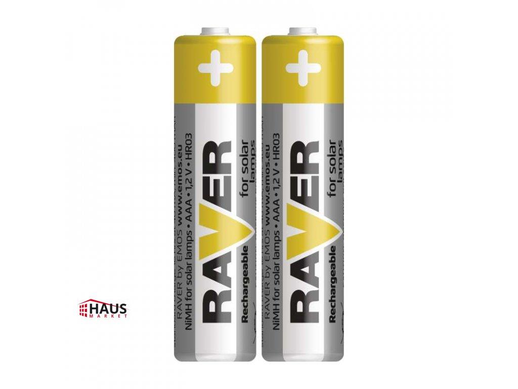 Nabíjacia batéria RAVER 400 mAh HR03 (AAA) B7414