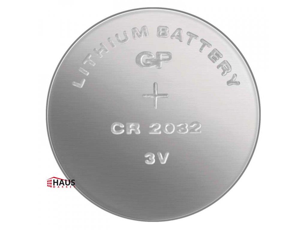Lítiová gombíková batéria GP CR2032 B15322