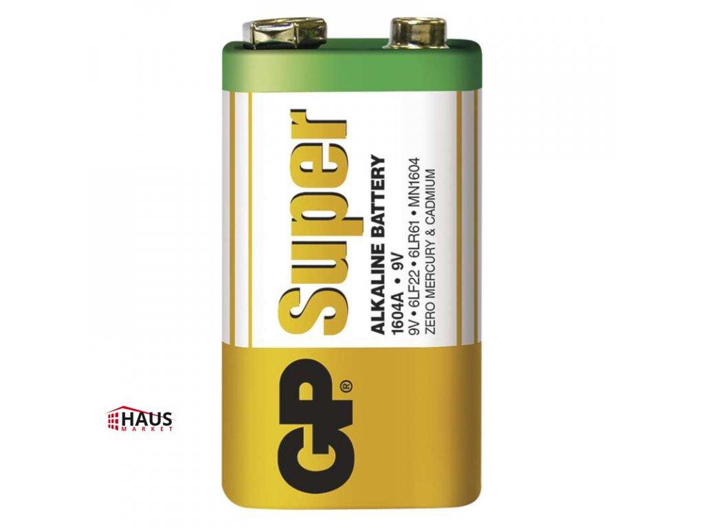 Alkalická batéria GP Super 6LF22 (9V) B1350