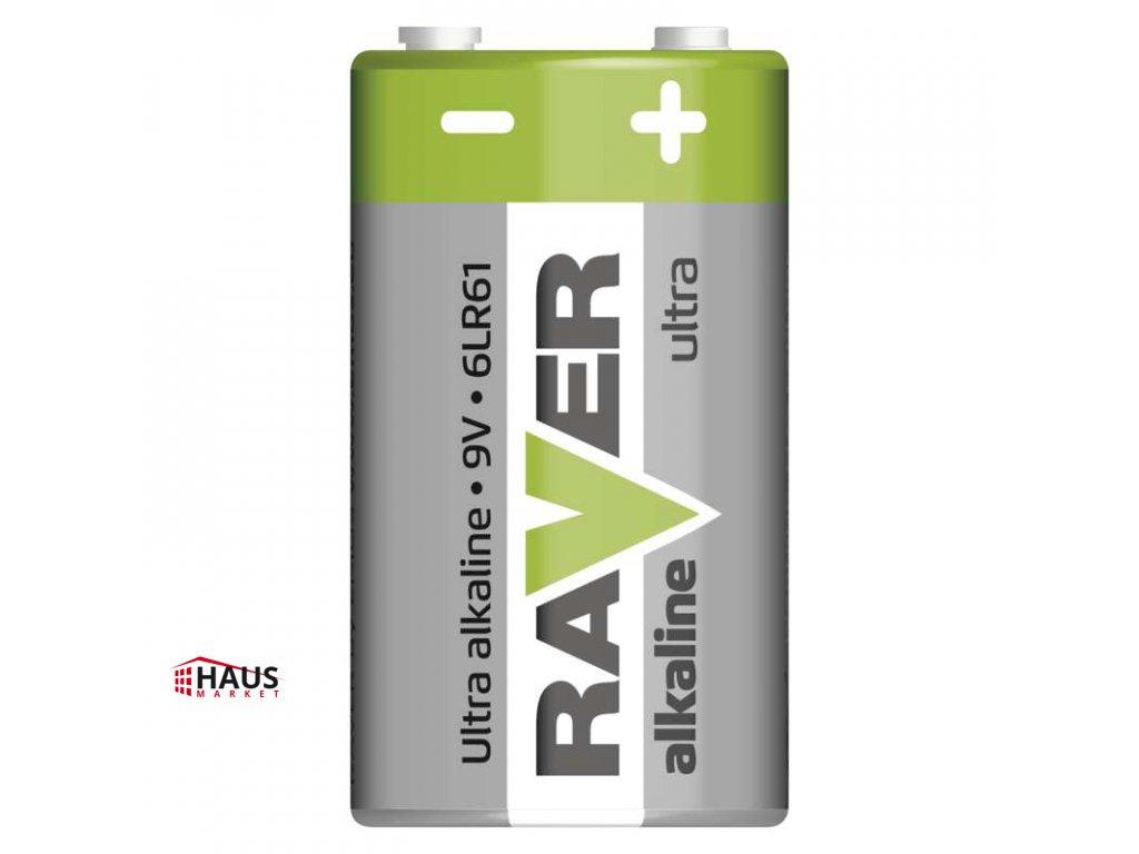 Alkalická batéria RAVER 6LF22 (9V) B7951