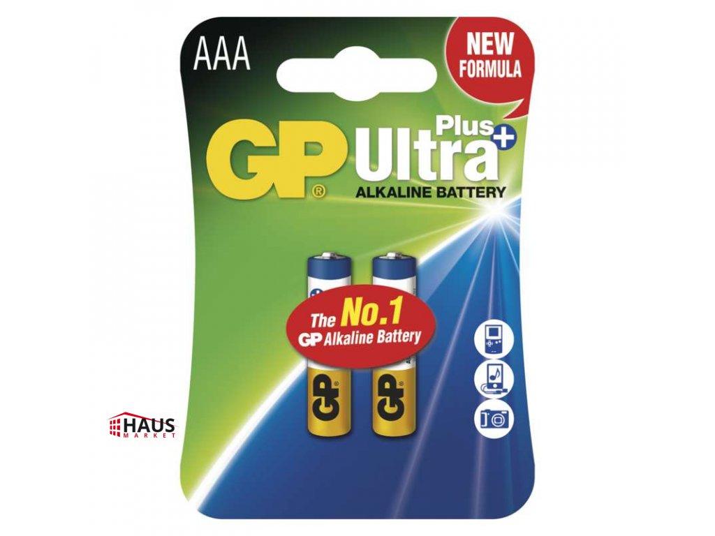 Alkalická batéria GP Ultra Plus LR03 (AAA) B17112
