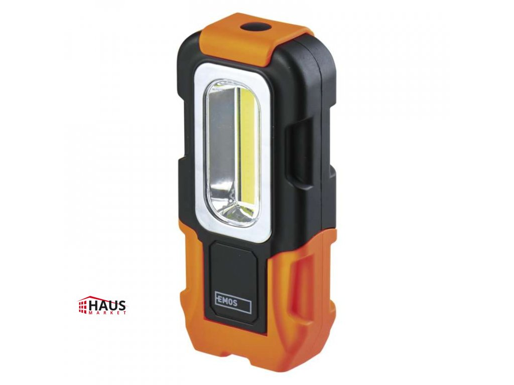 COB LED pracovné svietidlo P3888, 200 lm, 3× AAA P3888