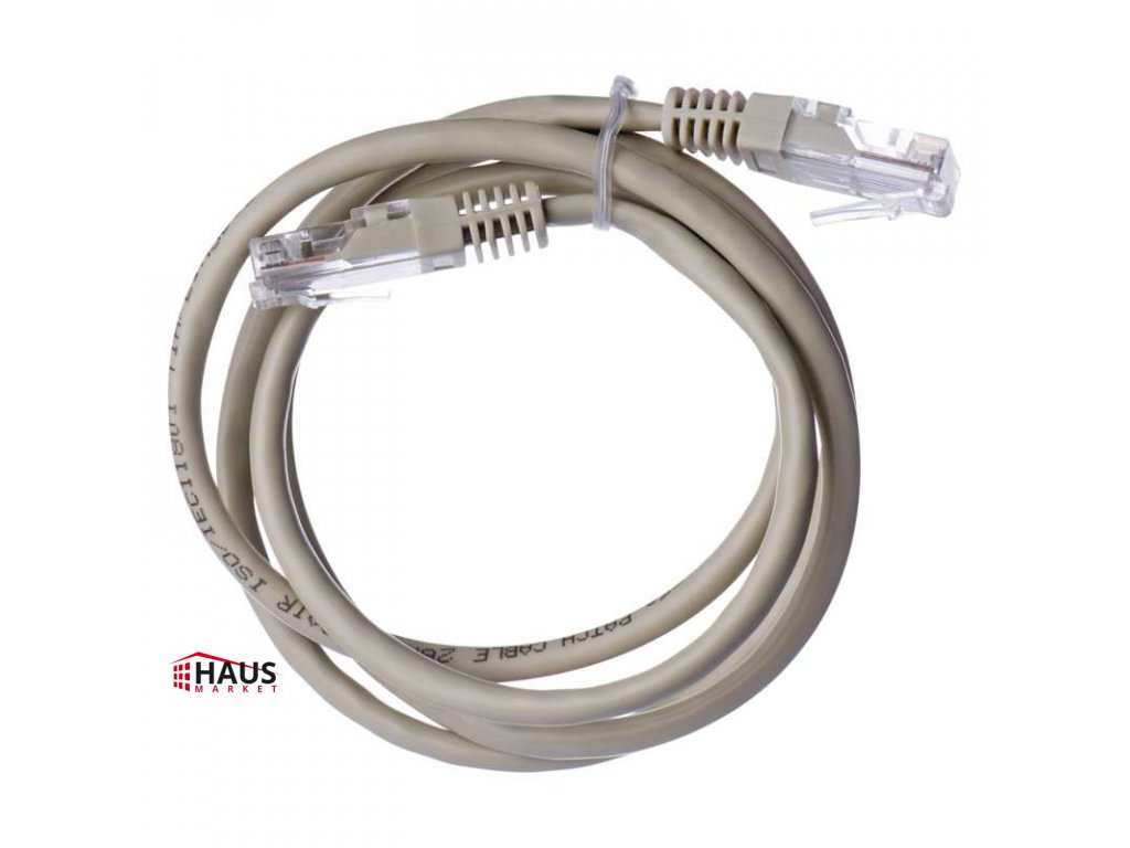 PATCH kábel UTP 5E, 1m S9122