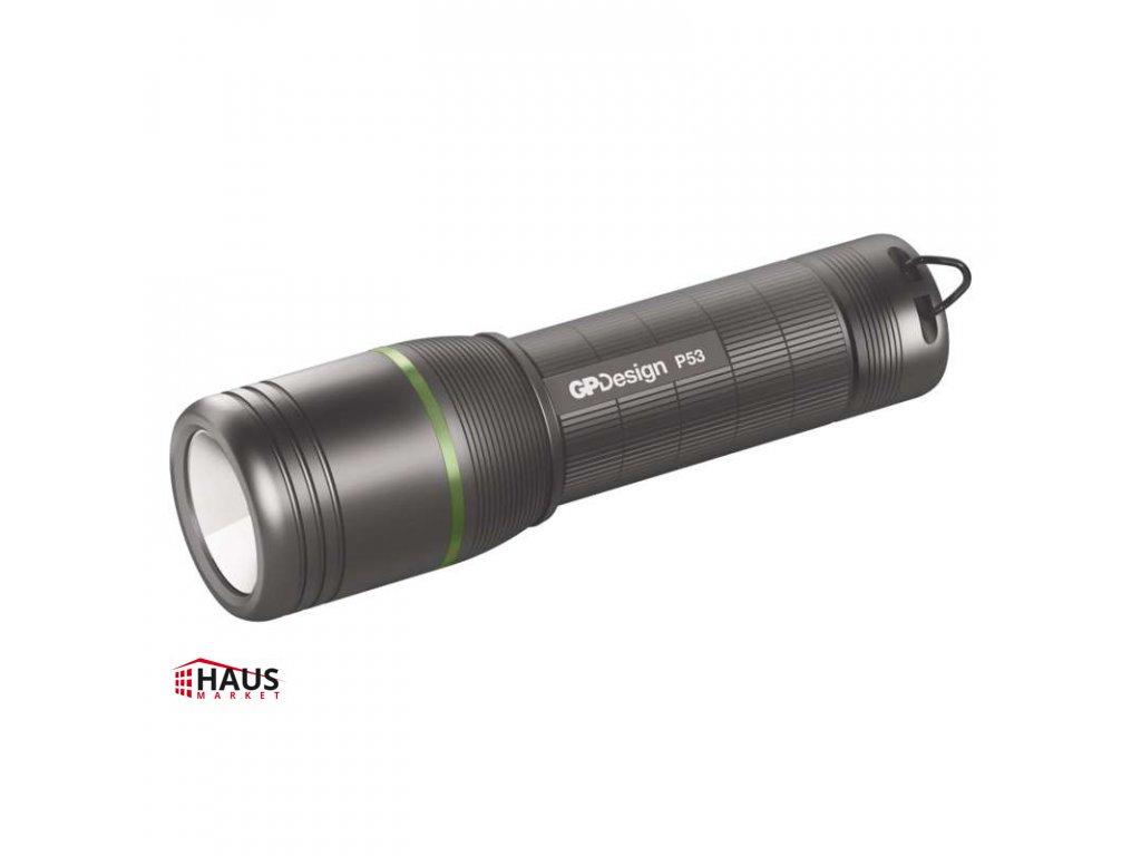 CREE LED ručné svietidlo GP P53, 300 lm, 3× AAA, fokus P8403