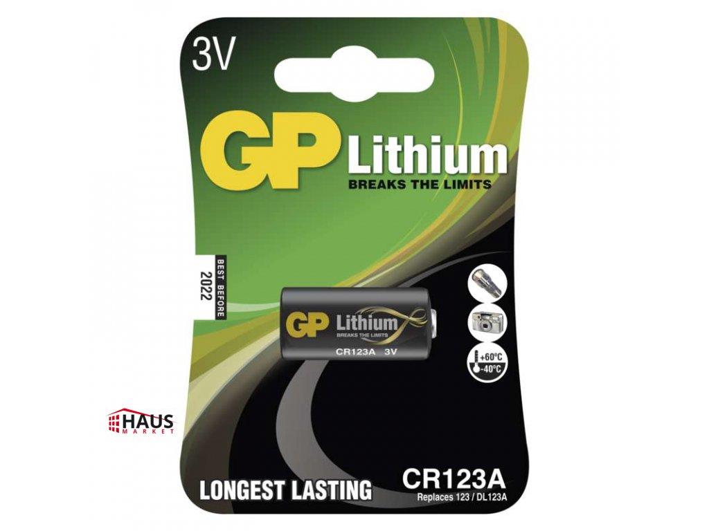 Lítiová batéria GP CR123A B1501