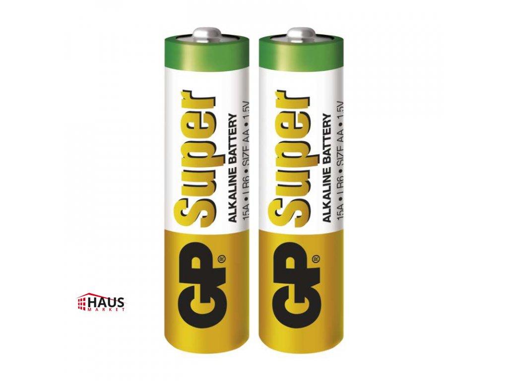 Alkalická batéria GP Super LR6 (AA) B1320