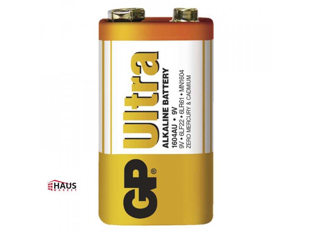 Alkalická batéria GP Ultra 6LF22 (9V) B1950