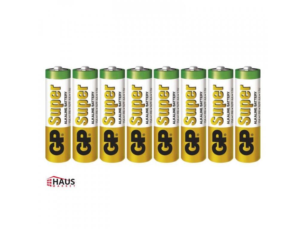 Alkalická batéria GP Super LR6 (AA) B13218