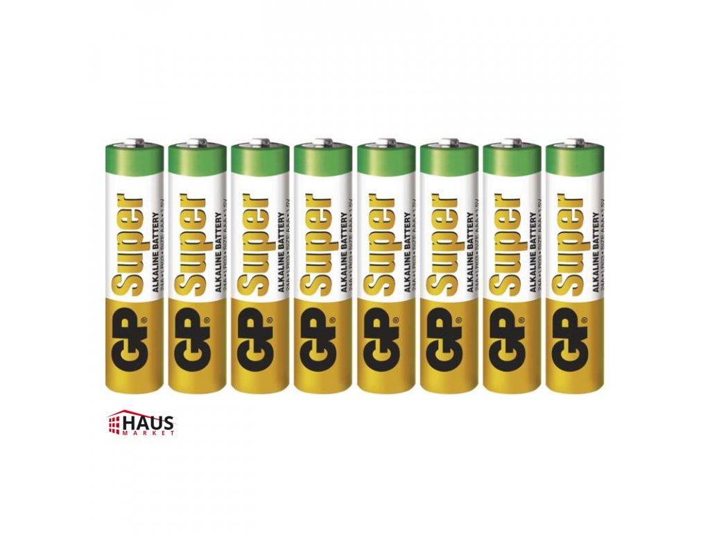 Alkalická batéria GP Super LR03 (AAA) B13118