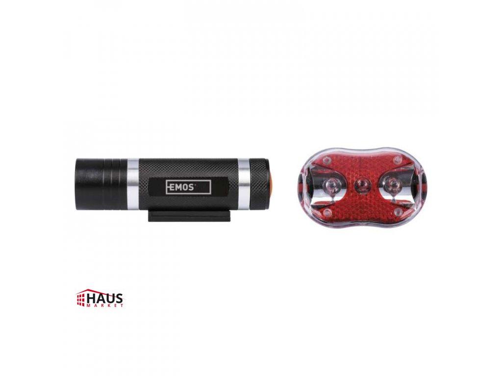 LED predné + zadné sviet. na bicykel P3920 na 5× AAA, 150 lm P3920