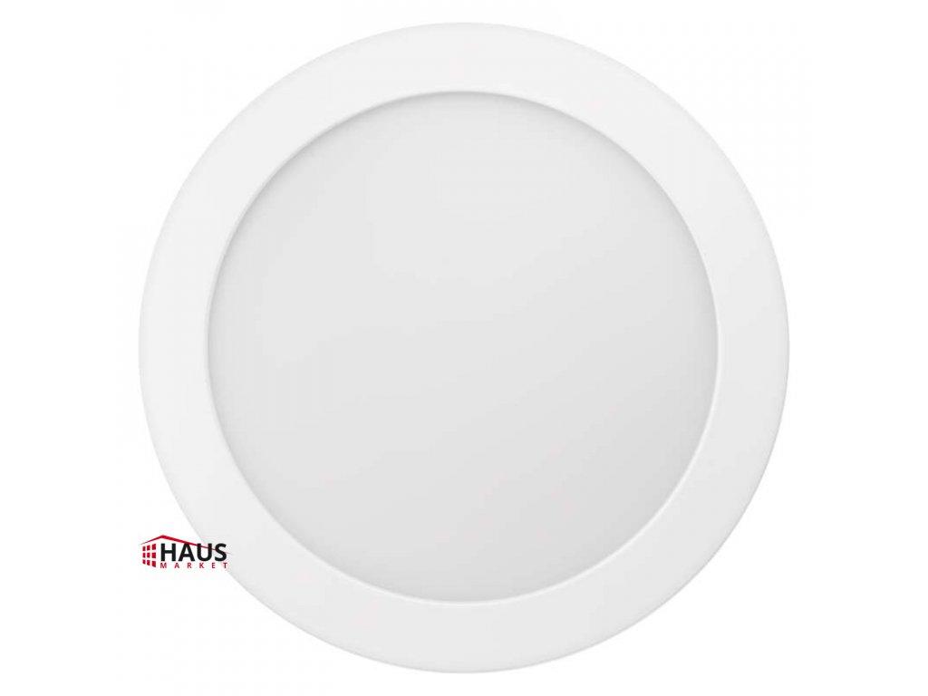 LED panel 224mm, kruhový prisadený biely, 18W neutrálna b. ZM5142
